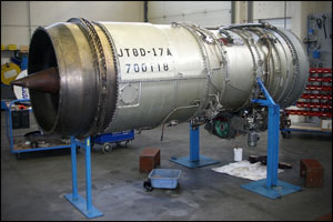 Jet engine overhaul APM